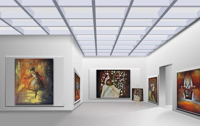 art Gallery large canvas printing